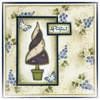 Paper Patch Tree Card