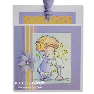 Candle Lighting Pocket Card