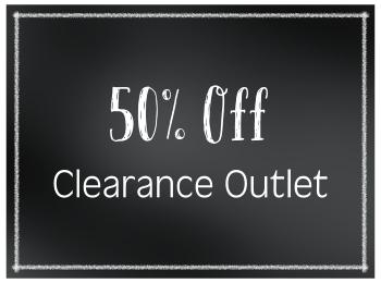 50% Off Clearance Outlet