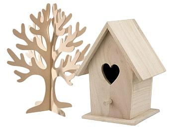 Bare Wood & MDF Items to Decorate