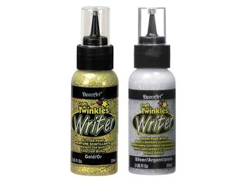 DecoArt Craft Twinkles Glitter Paint Writers