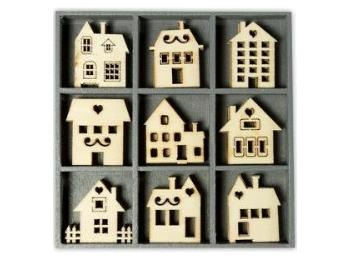 Decorative Wooden Shapes - Bare Wood