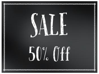 50% Off Crafting Supplies
