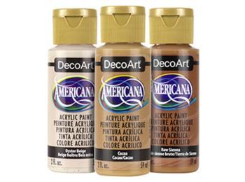 DecoArt Americana Acrylic Paints - Neutrals