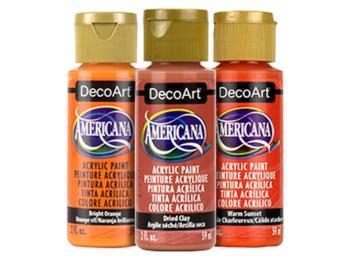 DecoArt Americana Acrylic Paints - Oranges