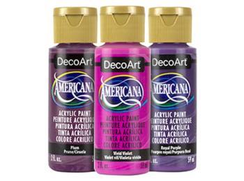 DecoArt Americana Acrylic Paints - Purples