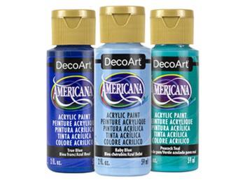 DecoArt Americana Acrylic Paints - Blues