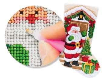 Bucilla Gem Dots Stocking Kits