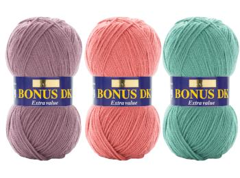 Sirdar Hayfield Bonus DK Yarn 100g