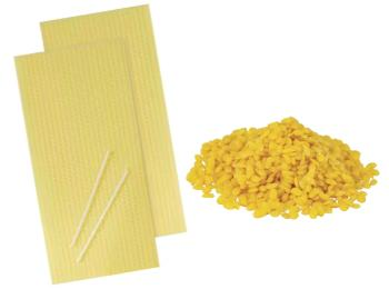 Pure Beeswax Pellets & Sheets