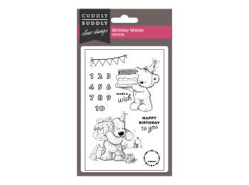 Cuddly Buddly Clear Stamp Sets