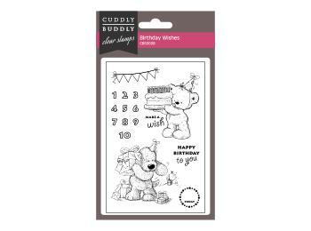 Cuddly Buddly Clear Stamp Sets