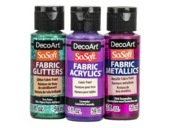 DecoArt SoSoft Fabric Paints & Mediums