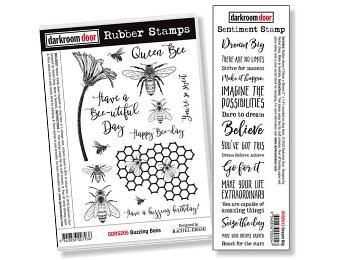 Darkroom Door Rubber Stamps