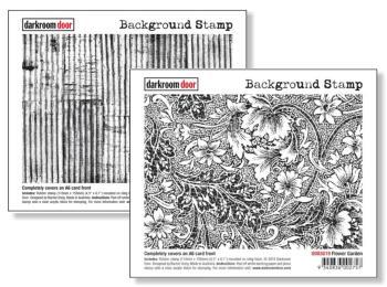 Darkroom Door Rubber Stamps - Backgrounds