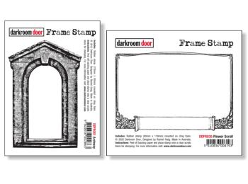 Darkroom Door Rubber Stamps - Frames