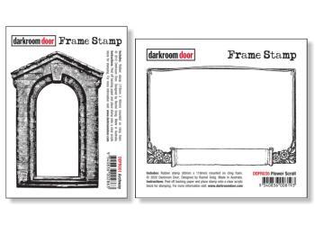 Darkroom Door Rubber Stamps - Frames