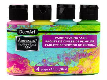 DecoArt Acrylic Paint Pouring Packs