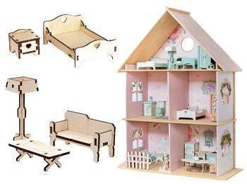DIY Dollhouse & Miniature Furniture