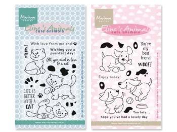Marianne Design - Eline's Cute Animals & Kiddies Stamps