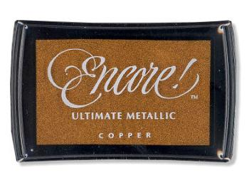 Encore Ultimate Metallic Pigment Ink Pads Large