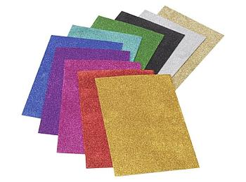 Craft Foam Sheets - Glitter & Plain