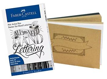 Hand Lettering Pens & Papers