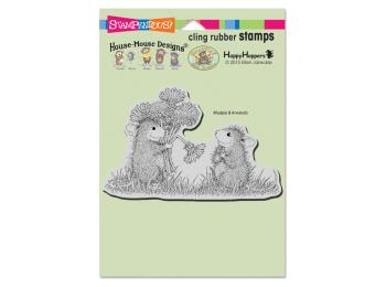 Stampendous - House Mouse & Happy Hopper