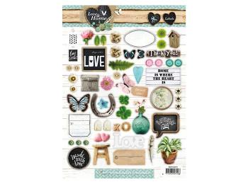 Studio Light Assorted Die-Cut Sheets
