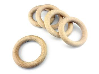Bare Wood & Cane Rings