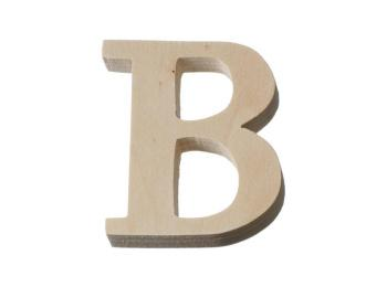 80mm Wooden Letters & Numbers