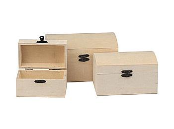 Bare Wood Boxes