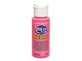 Americana Acrylic Paints - Neons