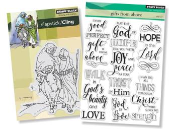 Penny Black Christian Stamps