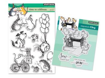 Penny Black Critters & Cuties Stamps