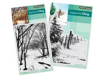 Penny Black Landscape Stamps