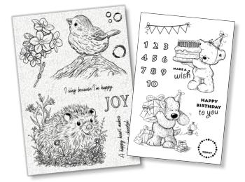 Clear & Rubber Stamps