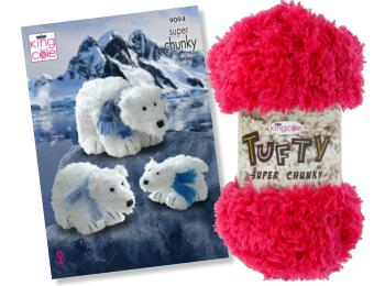 King Cole Tufty Yarn & Toy Patterns