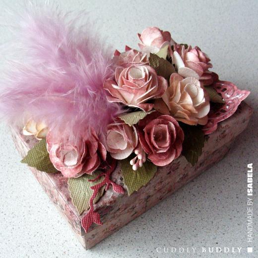 Vintage Roses Keepsake Box