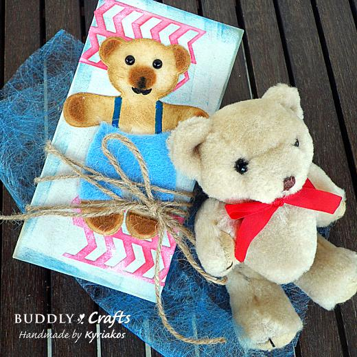 Decorate A Gift Box for Small Teddy Bears