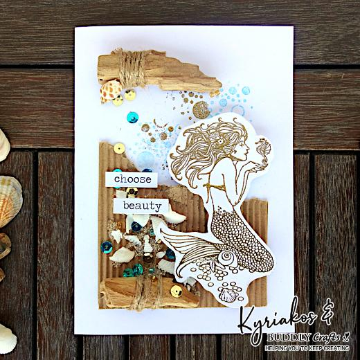 Choose Beauty Mermaid Card