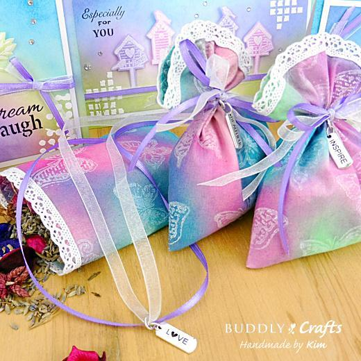 Summer Garden Cards & Lavender Bags