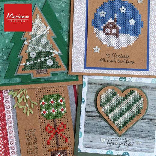Die-Cutting & Cross Stitch Fusion