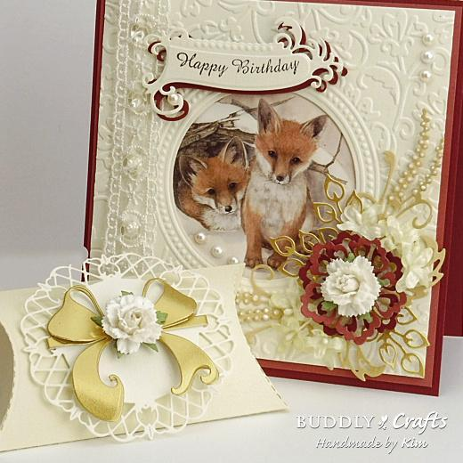 Classic Winter Wildlife Birthday Cards & Gift Pouches