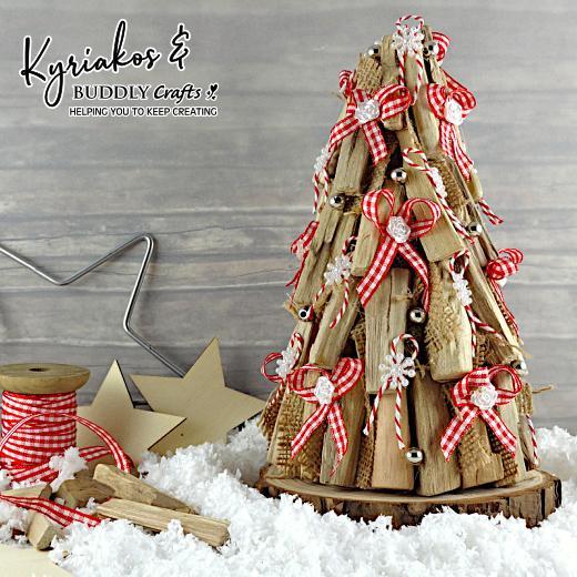 Drift Wood Christmas Tree