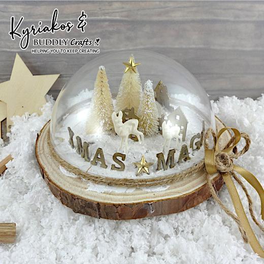 Christmas Magic Scenic Dome