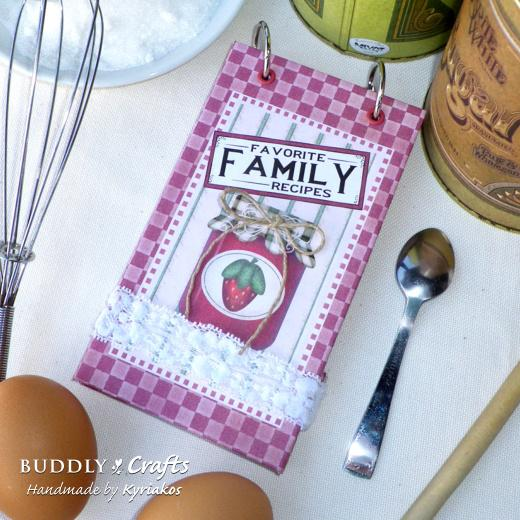 Food Book Cover Maker : Make your own recipe book buddly crafts
