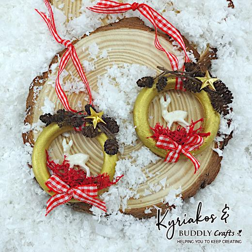 Wooden Ring Ornaments