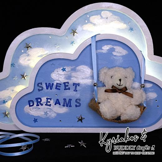 Sweet Dreams Nursery Night Light