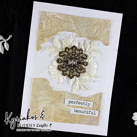 Stone Effect Paint Greeting Card